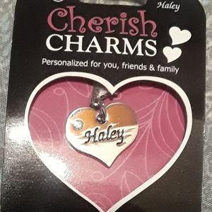 Hailey Name Charm